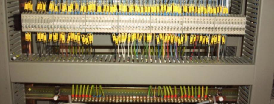 Câblage d'armoire à commande numérique
